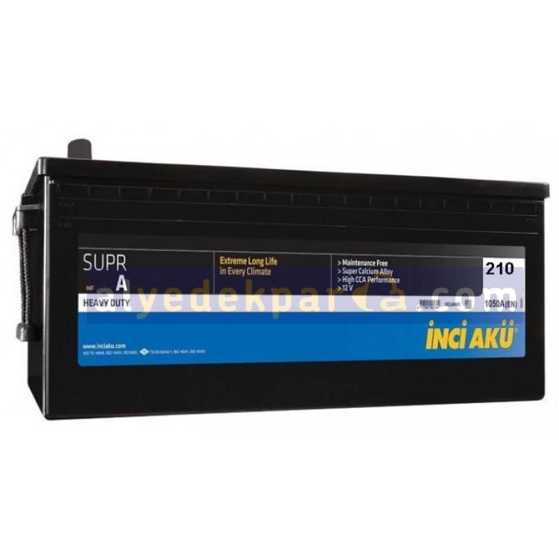 İnci Battery - 210 Ampere Battery